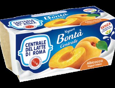 Yogurt intero albicocca Centrale Del Latte Di Roma