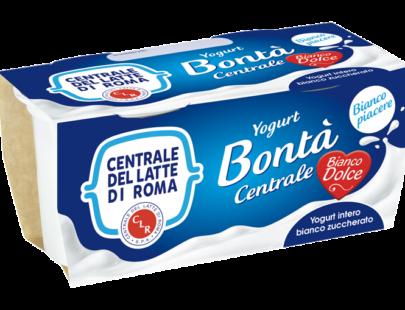 Yogurt intero bianco dolce Centrale Del Latte Di Roma