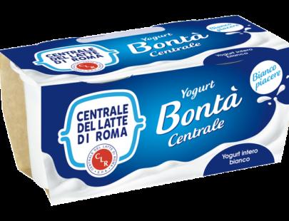 Yogurt intero bianco Centrale Del Latte Di Roma