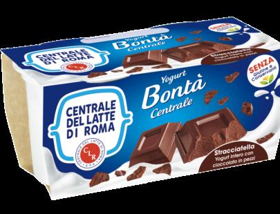 Yogurt stracciatella con cioccolato in pezzi Centrale Del Latte Di Roma