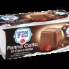 Panna cotta al cioccolato 2 vasetti Centrale Del Latte Di Roma