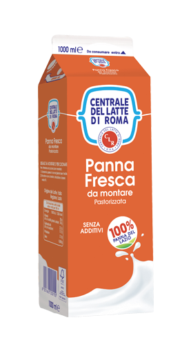 Panna fresca da montare pastorizzata 1000 ml Centrale Del Latte Di Roma