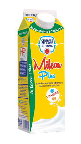 Milcon Plus Parzialmente Scremato