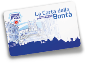 Carta della Bontà - Carta fedeltà Centrale Del Latte Di Roma