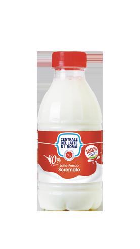 latte fresco scremato Centrale Del Latte Di Roma