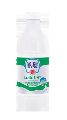 latte UHT parzialmente scremato Centrale Del Latte Di Roma